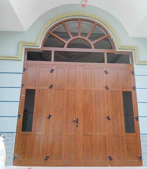 20+ Mẫu cửa nhôm kính vân gỗ sang trọng, chất lượng 2021