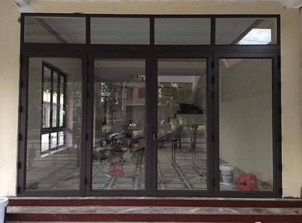 Cửa Nhôm Việt Pháp Hệ 4500 Đẹp - Hệ Nhôm Kính Chất Lượng