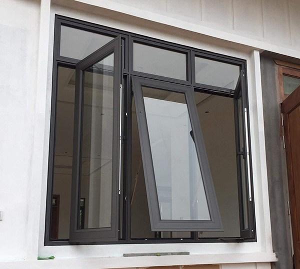 10 mẫu cửa sổ nhôm Việt Pháp cực đẹp năm 2021