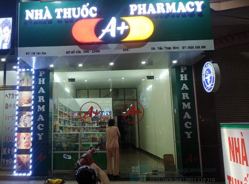 Giới thiệu các mẫu bảng hiệu nhà thuốc đẹp và ấn tượng nhất