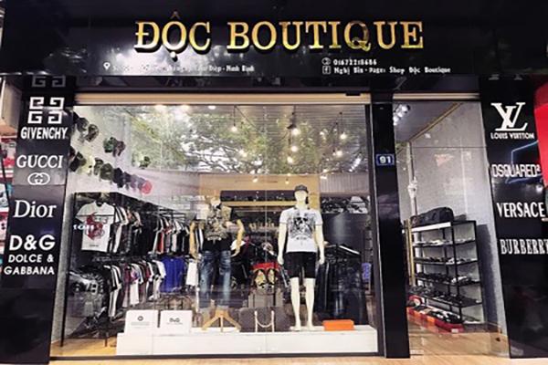 Địa chỉ nhận làm bảng hiệu shop quần áo chuyên nghiệp 2021